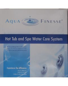 Aquafinesse hot tub and aps water care system